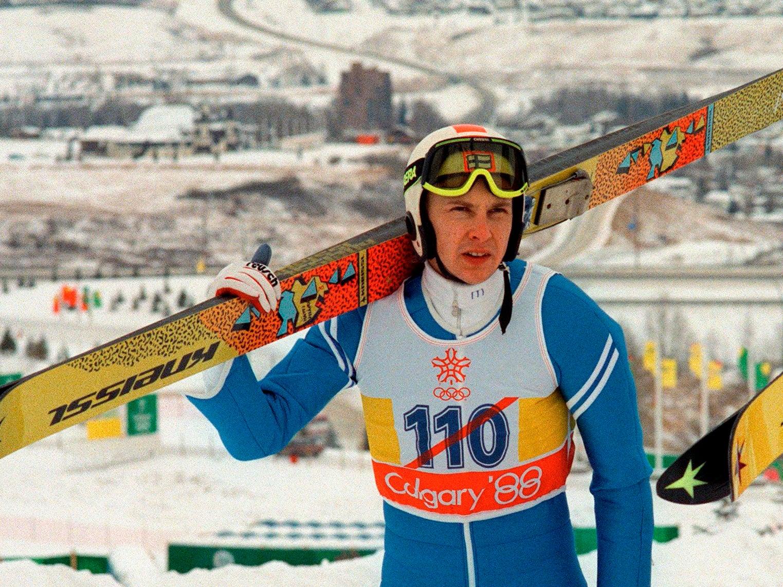 Matti Nykanen: Finnish ski-jumper who won four Olympic golds