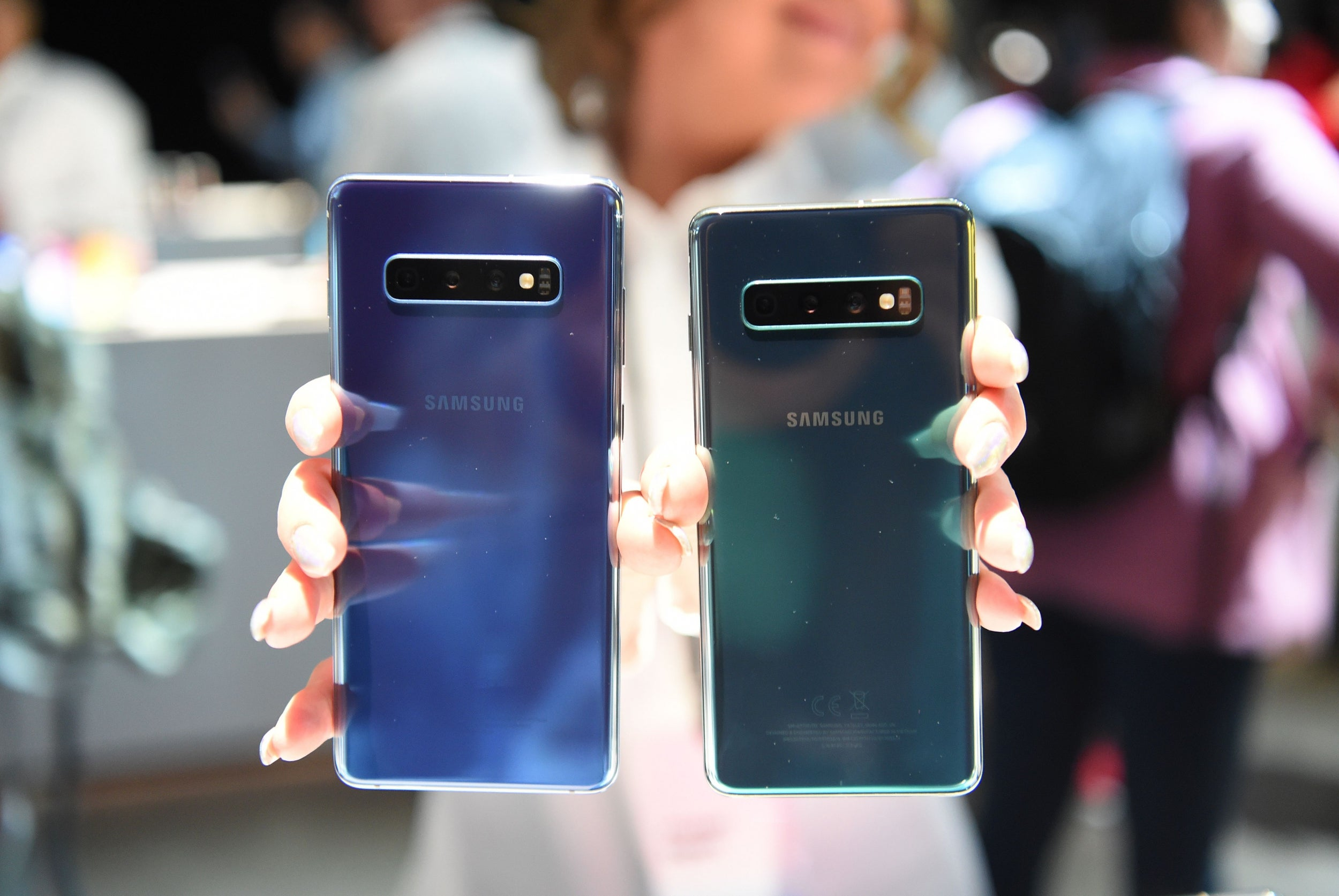 Samsung phones can be unlocked with any fingerprint