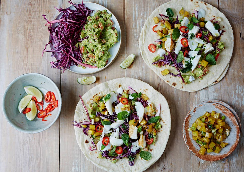 Jamies Friday Night Feast Cookbook Recipes From Fish Tacos
