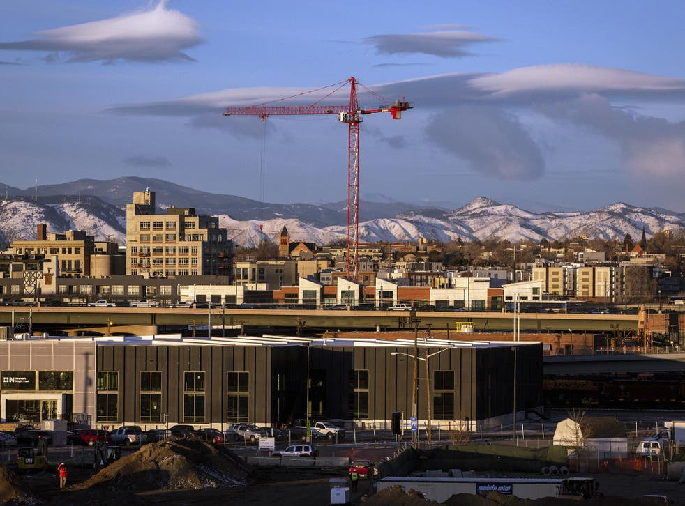 More than a dozen hotel, office and residential buildings are under construction in the city's greater downtown