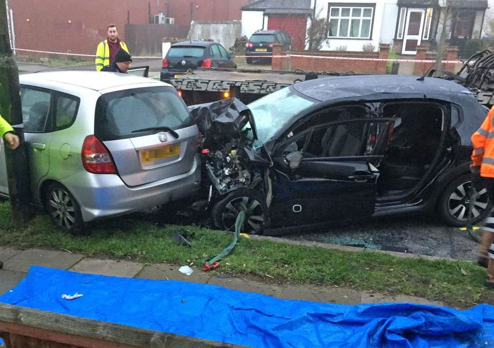 Police chase crash leaves elderly couple dead in London | The