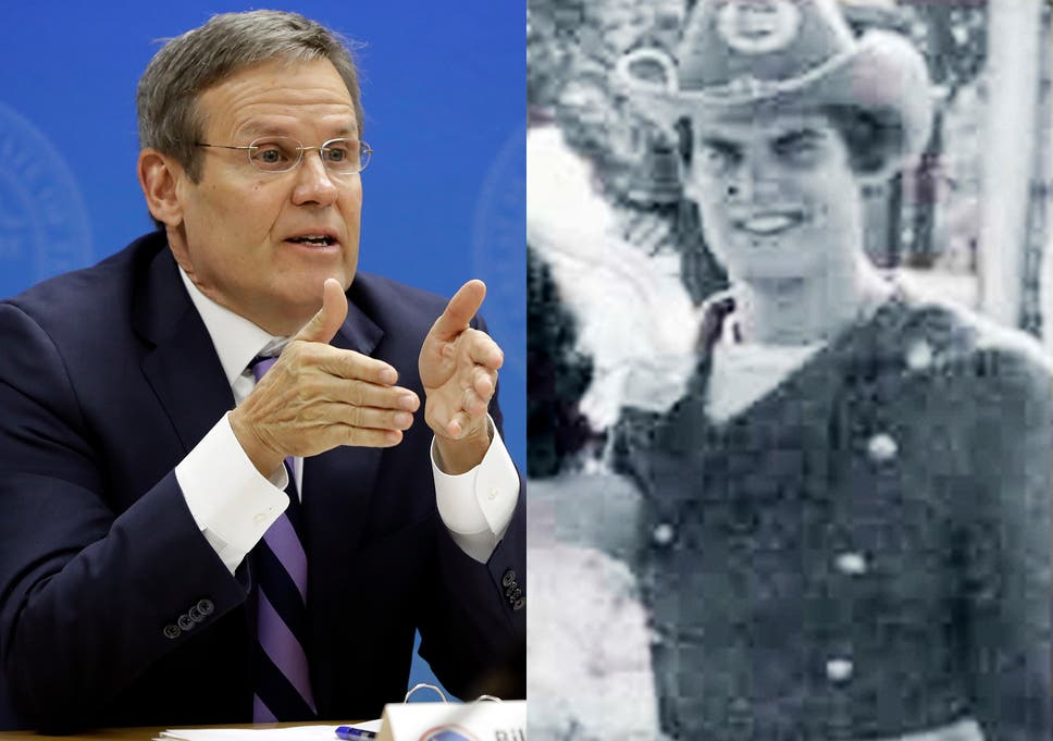 Republican Governor Of Tennessee Bill Lee Is Dressed As A Confederate Soldier In His 1980 Yearbook