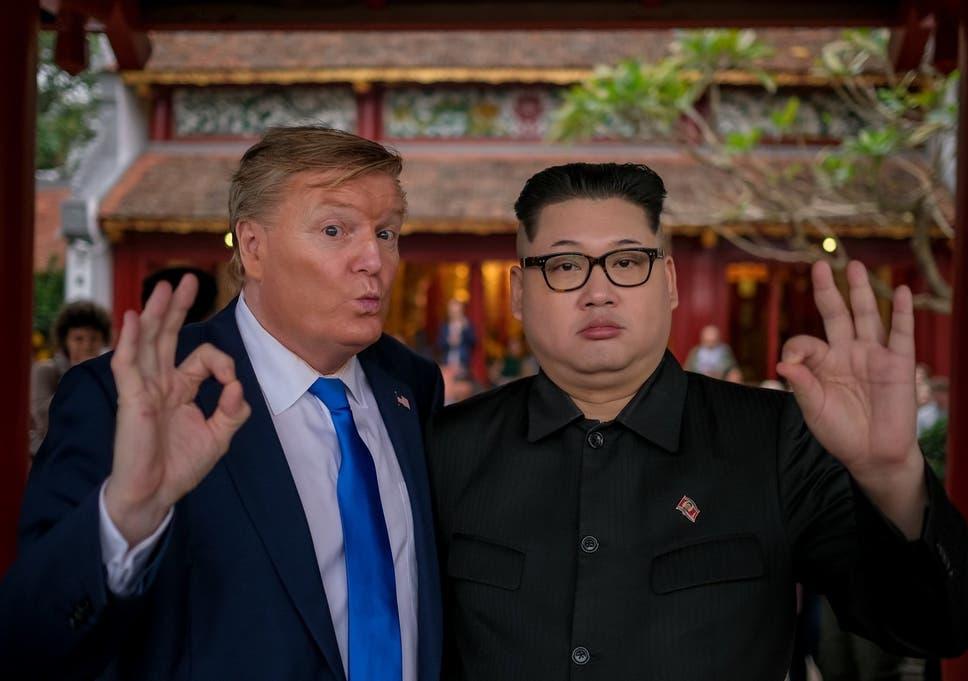Trump and Kim Jong Un impersonators detained in Vietnam ahead of