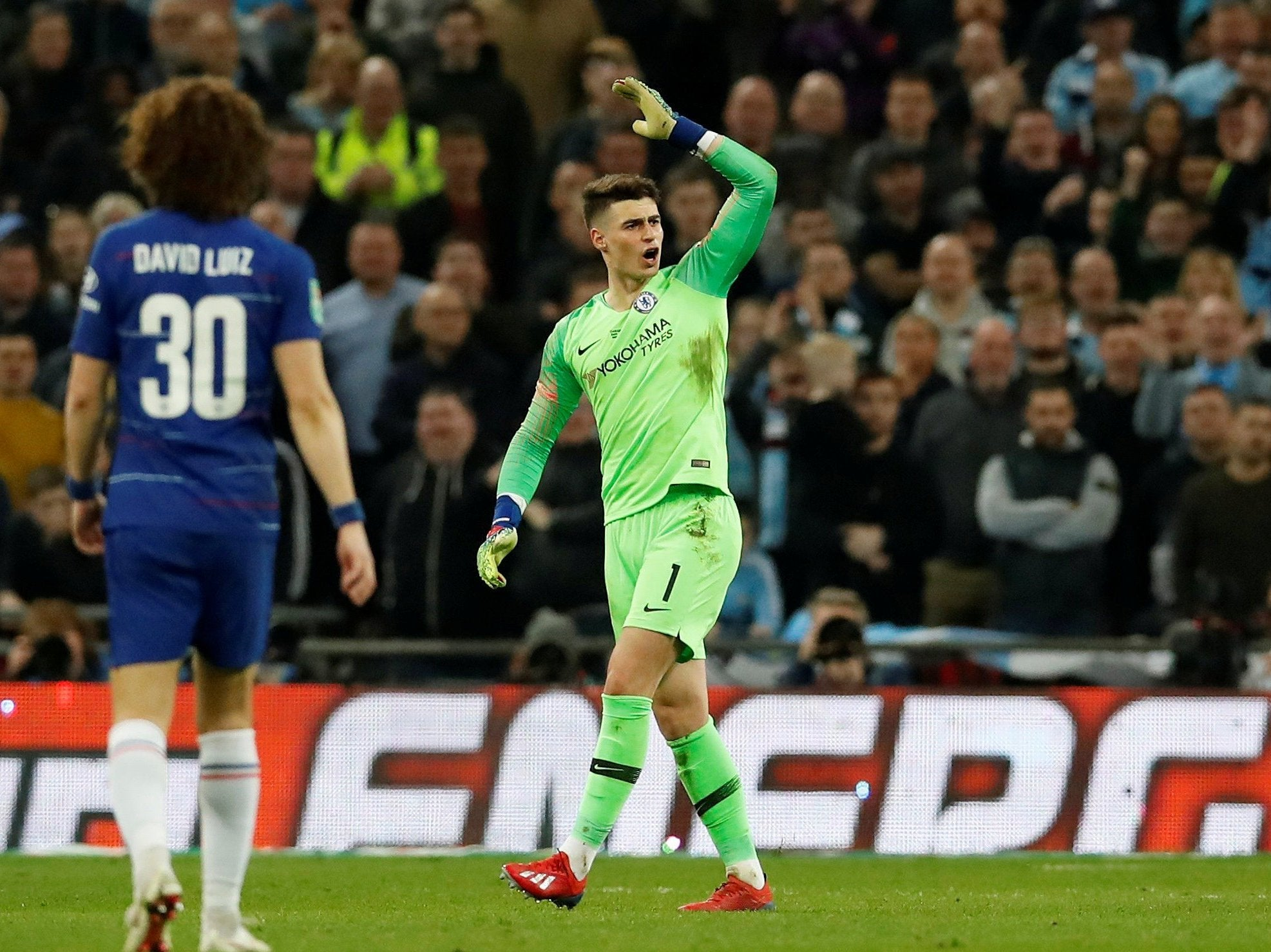 Kepa Arrizabalaga refuses substitution: John Terry accuses Chelsea  goalkeeper of lacking respect after ignoring Maurizio Sarri | The  Independent | The Independent