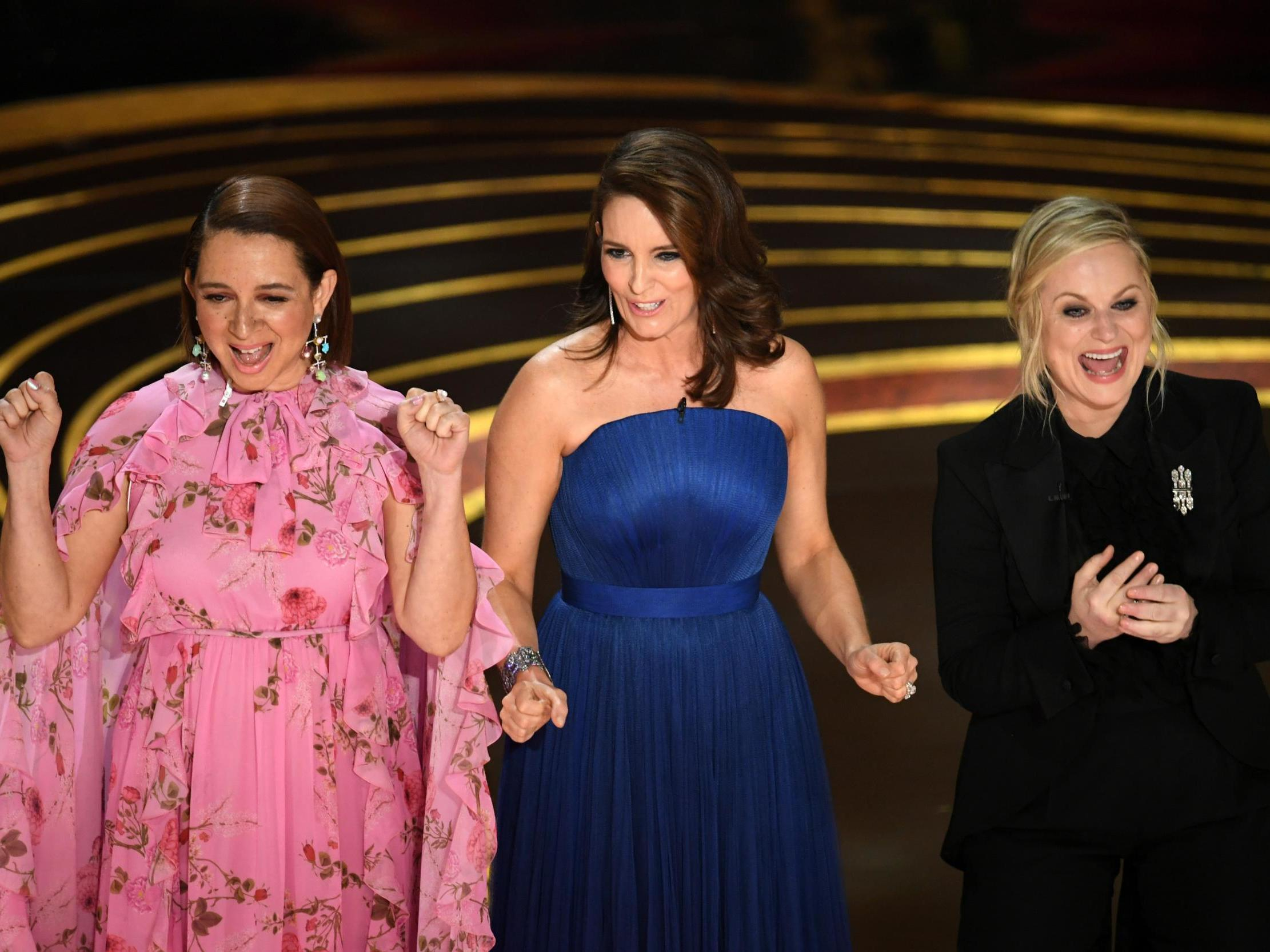 a5cabeed03911 Oscars 2019: 8 best jokes, from Amy Poehler's Fyre Festival quip to Trevor  Noah's Mel Gibson remark | The Independent