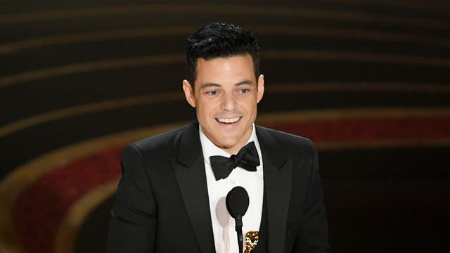 Rami Malek accepts the Actor in a Leading Role award for 'Bohemian Rhapsody' onstage during the 91st Annual Academy Awards at Dolby Theatre on February 24, 2019 in Hollywood, California