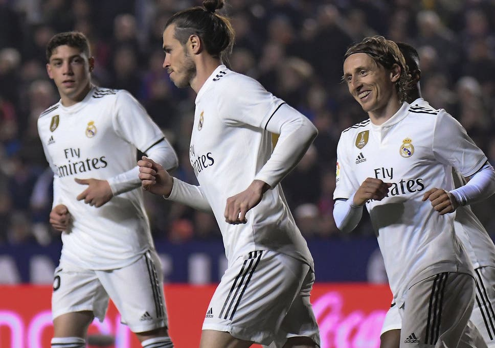 Click to follow. Sport. Bale scored the winner but looked less than pleased  afterwards 0139b61fd4db6