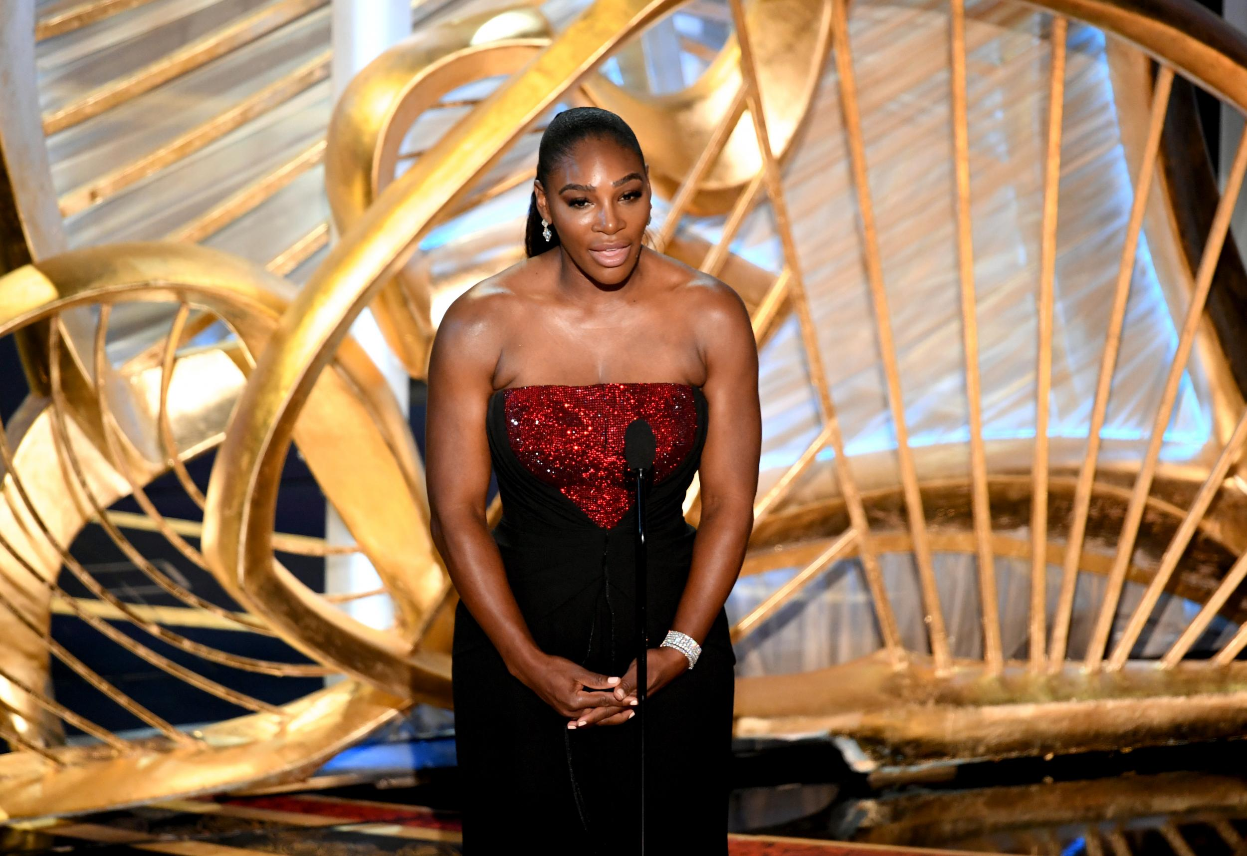 602e3f859882 Oscars 2019  Serena Williams urges women to  dream crazier  with empowering  Nike advert
