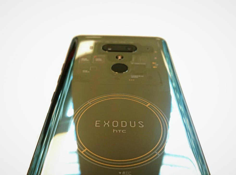 The HTC Exodus 1 hopes to bring blockchain technology, bitcoin and cryptocurrency to the masses