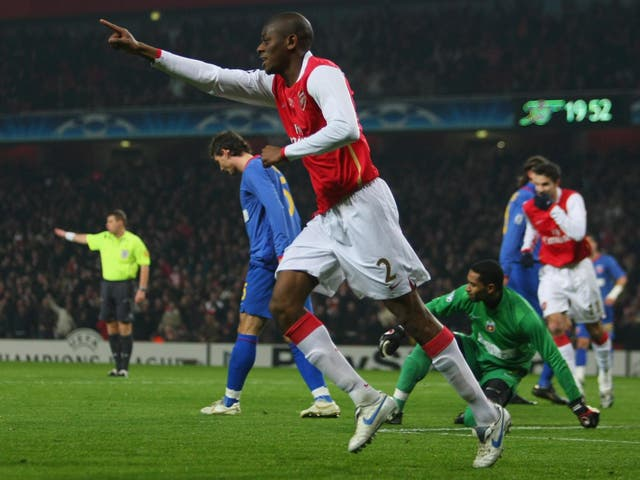 Diaby spent almost a decade in north London