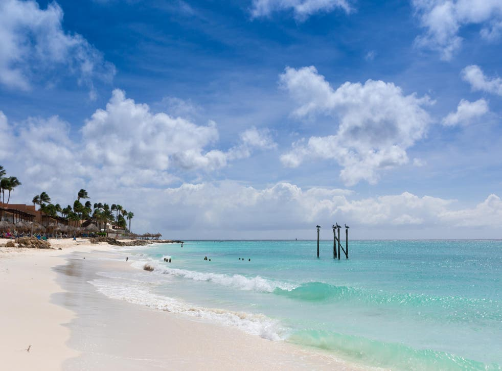 Distance selling: the Caribbean island of Aruba is popular with travellers from the Netherlands