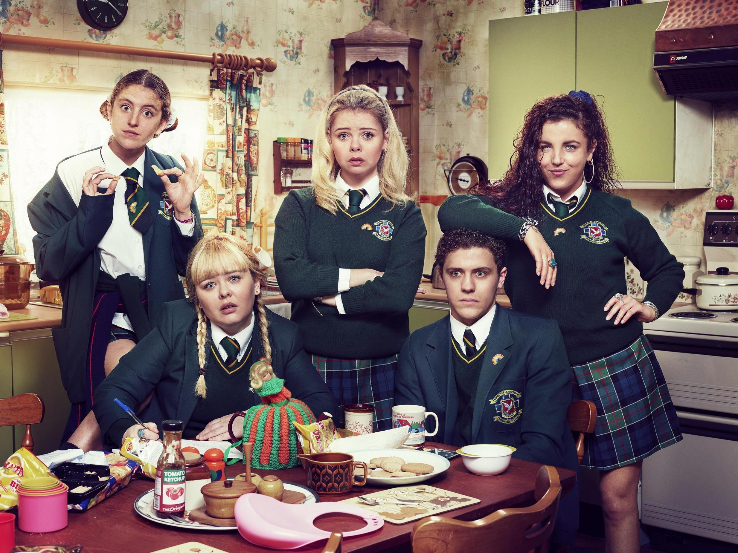 Derry Girls removed from Netflix four days after it was added to service