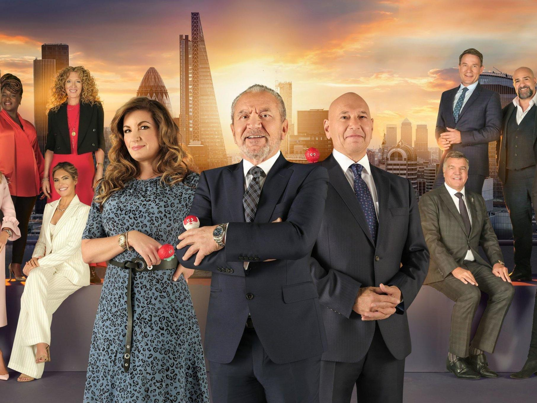 Celebrity Apprentice: Sam Allardyce, Rylan Clark-Neal and