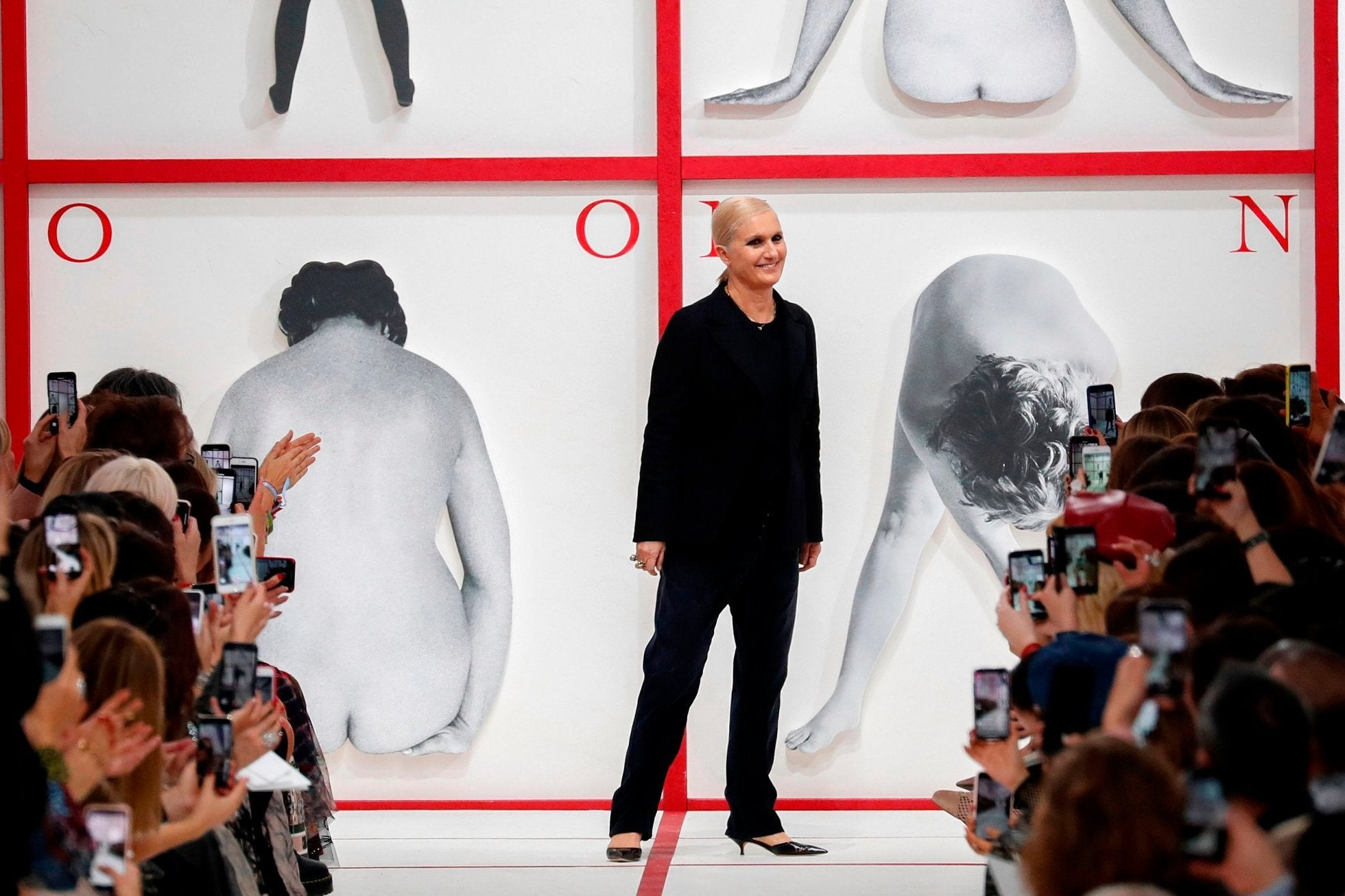 Paris Fashion Week Dior Show Pays Homage To The Late Karl Lagerfeld