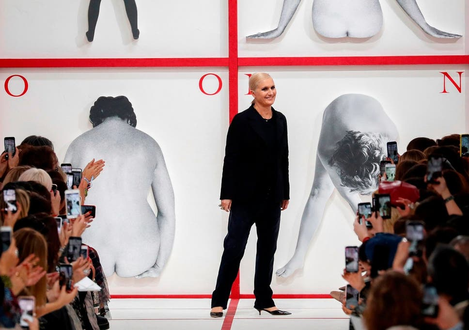 Paris Fashion Week Dior show pays homage to the late Karl
