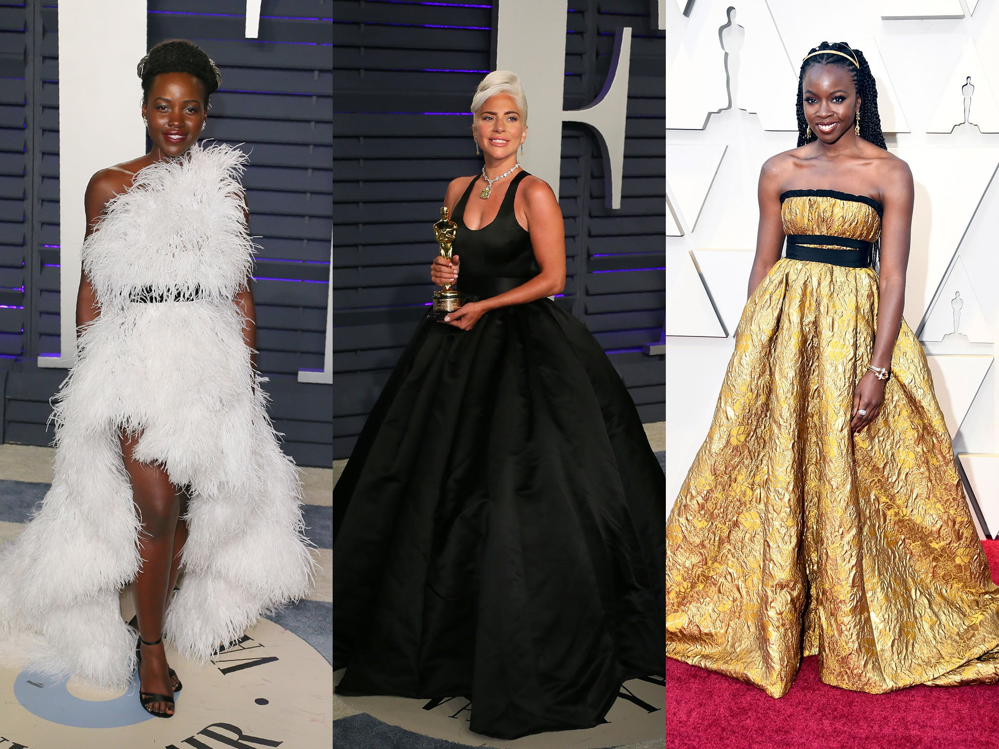 Oscars 2019  You can now buy Lady Gaga and Lupita Nyong o s red carpet gowns   dfa0d9e71