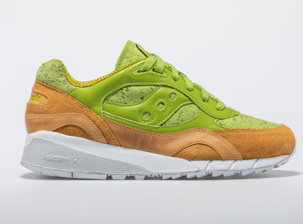 The 'Avocado Toast' trainers retail at $130 at Saucony
