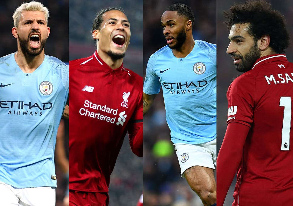 b0f8d8a7b Manchester City and Liverpool look set to do battle for the Premier League  title