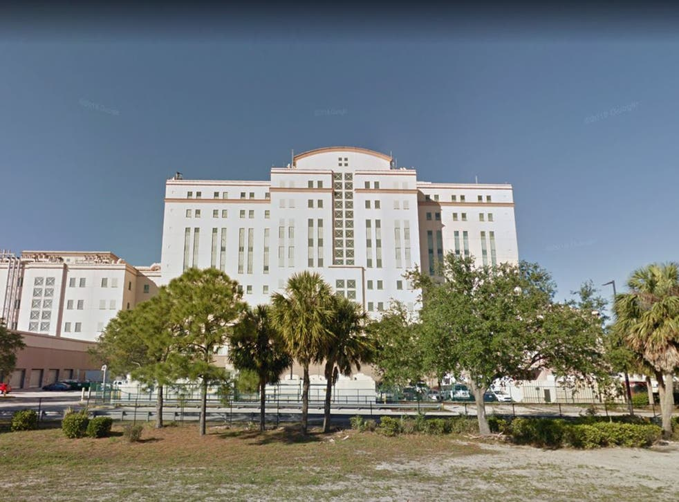 A doctor was shot in the neck by a patient at West Palm Beach VA Medical Centre in Florida