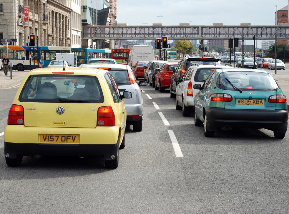 A third of British drivers think there is a significant problem with pollution where they live, according to the survey