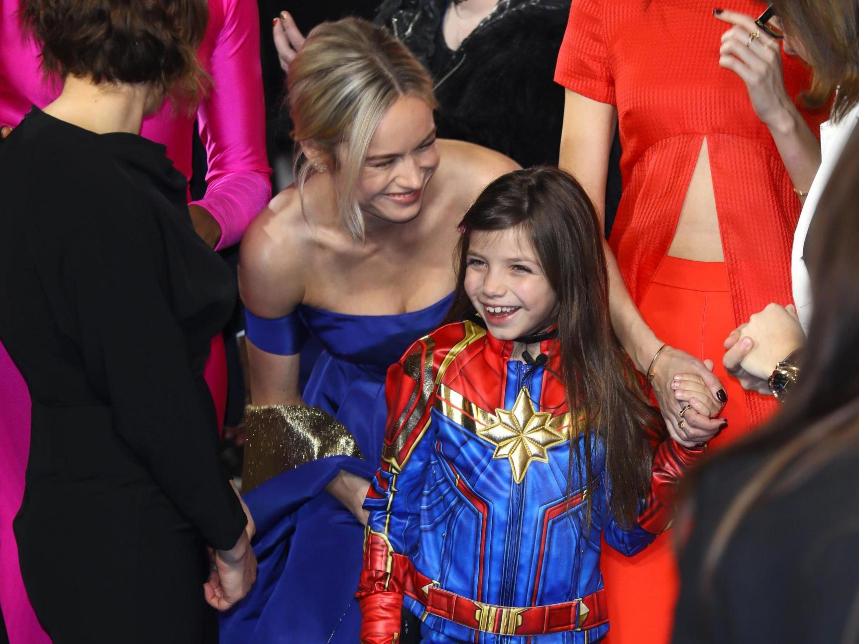 From Captain Marvel To Wonder Woman 10 Times Young Girls Dressed As Their Female Heroes The Independent The Independent The costume guide to all of captain marvel / carol danvers outfits, portrayed by brie larson, in captain marvel. from captain marvel to wonder woman 10