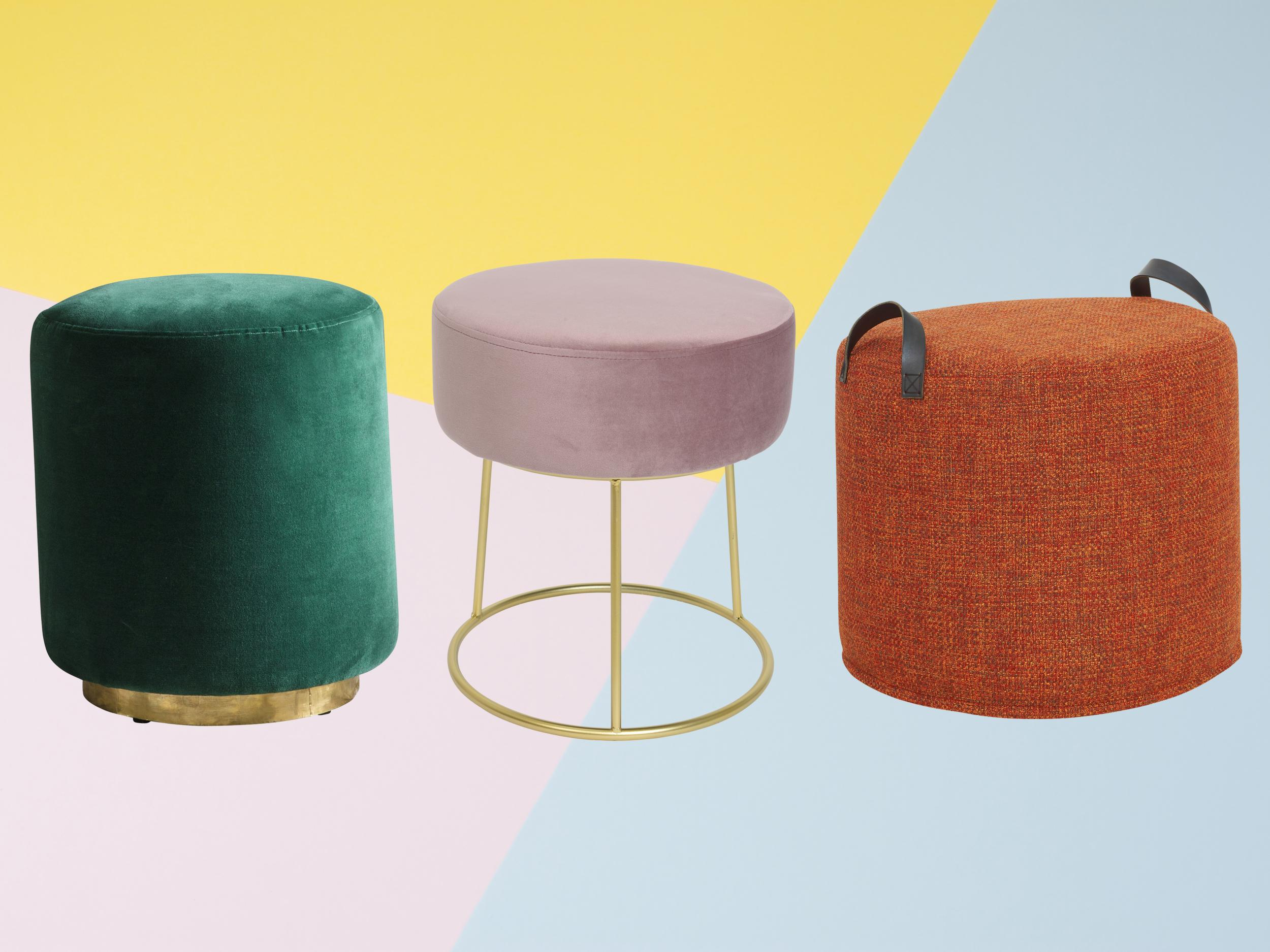 9b04c326f1e 9 best pouffes and footstools | The Independent
