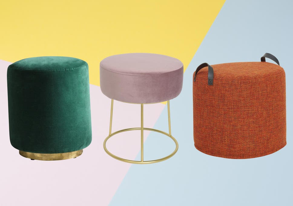 Outstanding 9 Best Pouffes And Footstools The Independent Machost Co Dining Chair Design Ideas Machostcouk
