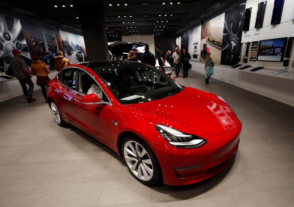Tesla Model 3 Elon Musk Opens Online Orders For New Electric Car