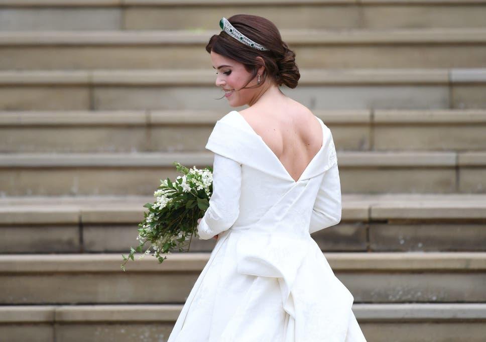 Eugenie Wedding Dress.Princess Eugenie Reveals Why She Wanted Her Wedding Dress To Show