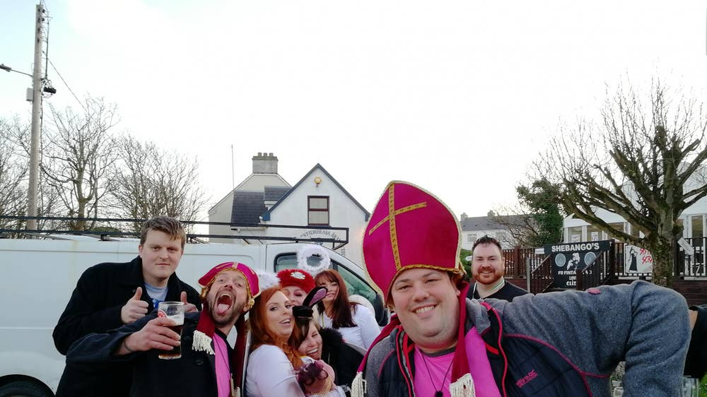 What it's like to hang out with Father Ted's biggest fans on