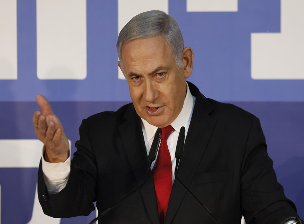 Israeli Prime Minister Benjamin Netanyahu says he is the victim of a political 'witch hunt'