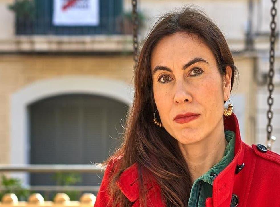 Txell Bonet, the wife of Omnium president Jordi Cuixart