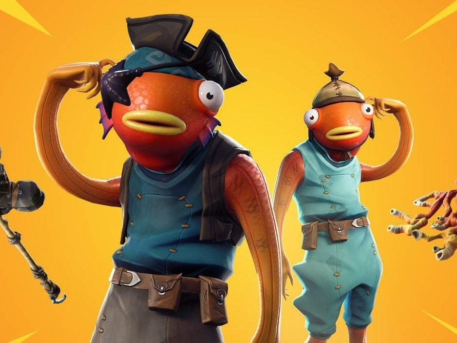fishstick outfit - new fortnite update season 8