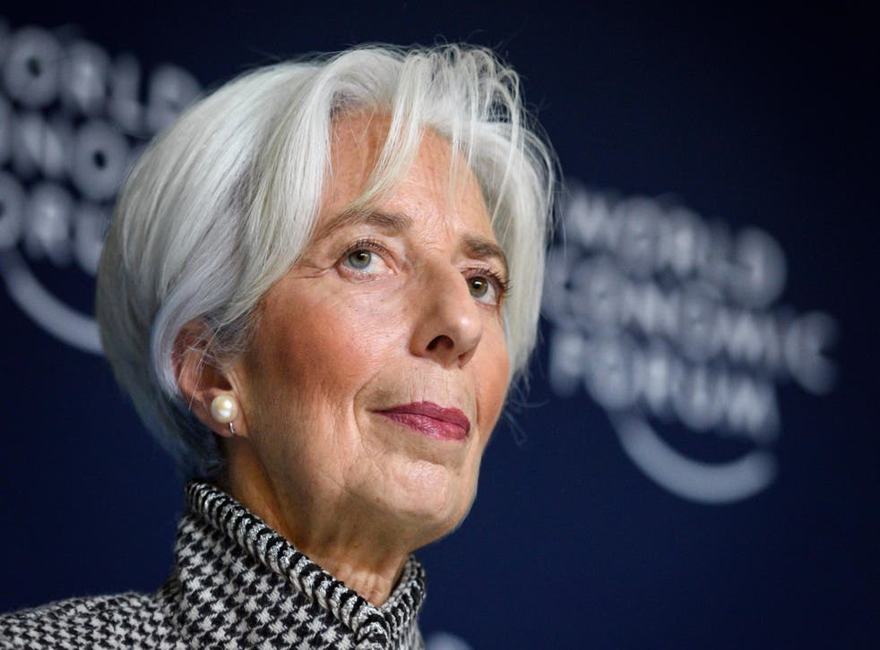 Ms Lagarde has spoken about gender equality between staff