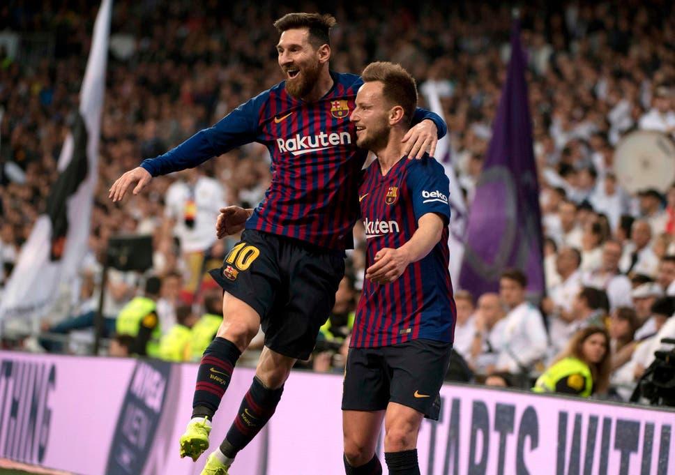 Real Madrid vs Barcelona  Ivan Rakitic goal inspires victory as ... e16ae7b1b1443