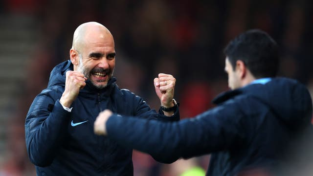 A win over Bournemouth and the Reds' draw vs Everton sees City a point clear at the top