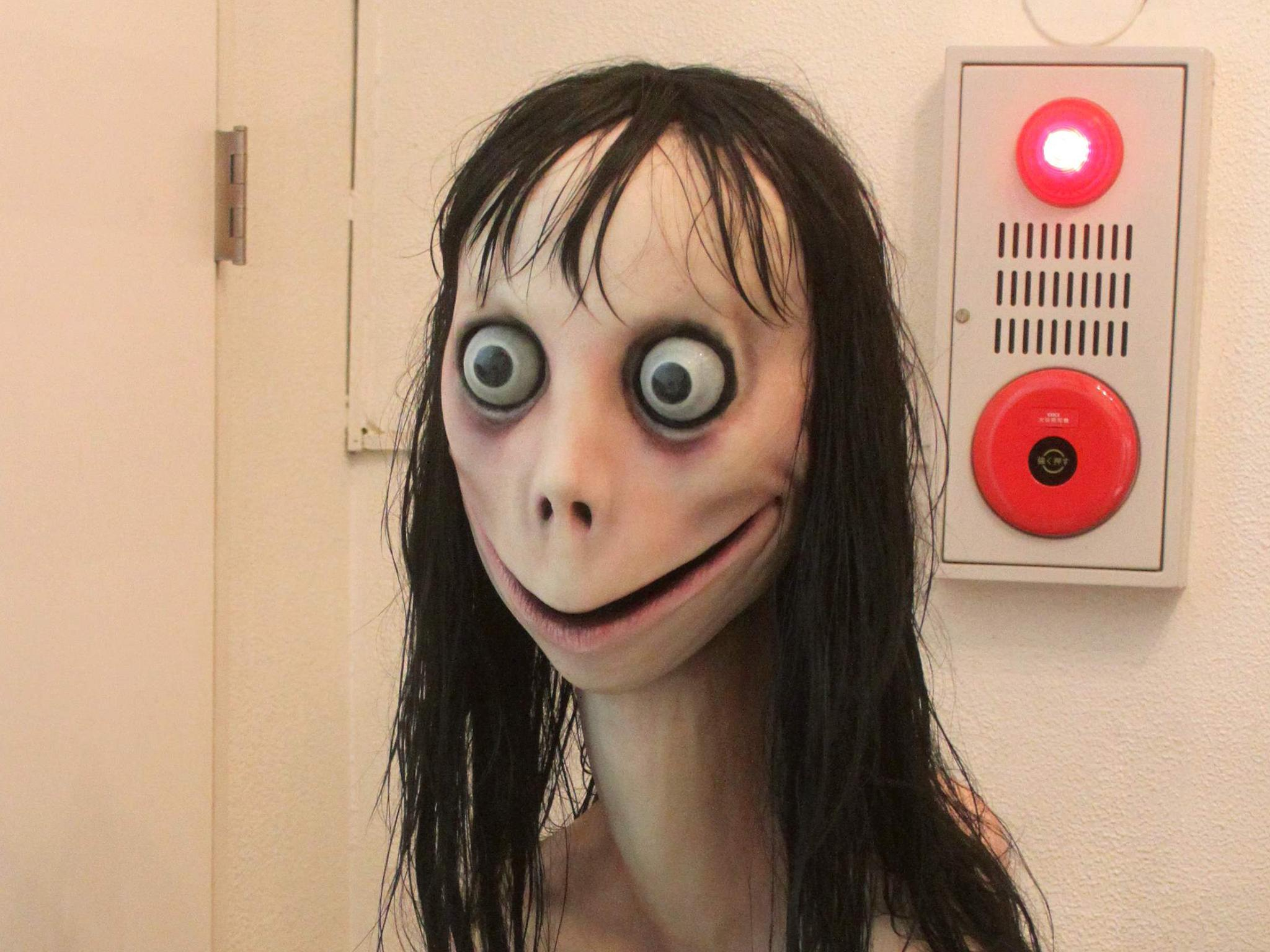Momo character destroyed after it rotted into even more horrifying state, creator says