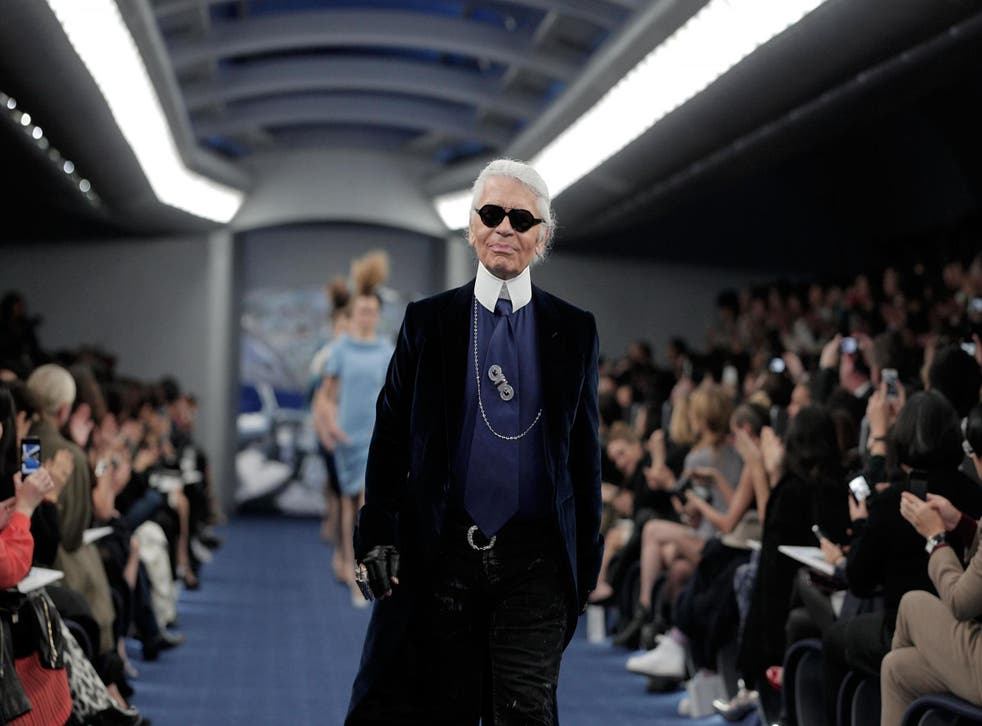 One of Karl Lagerfeld's final interviews released on Chanel podcast (Getty)