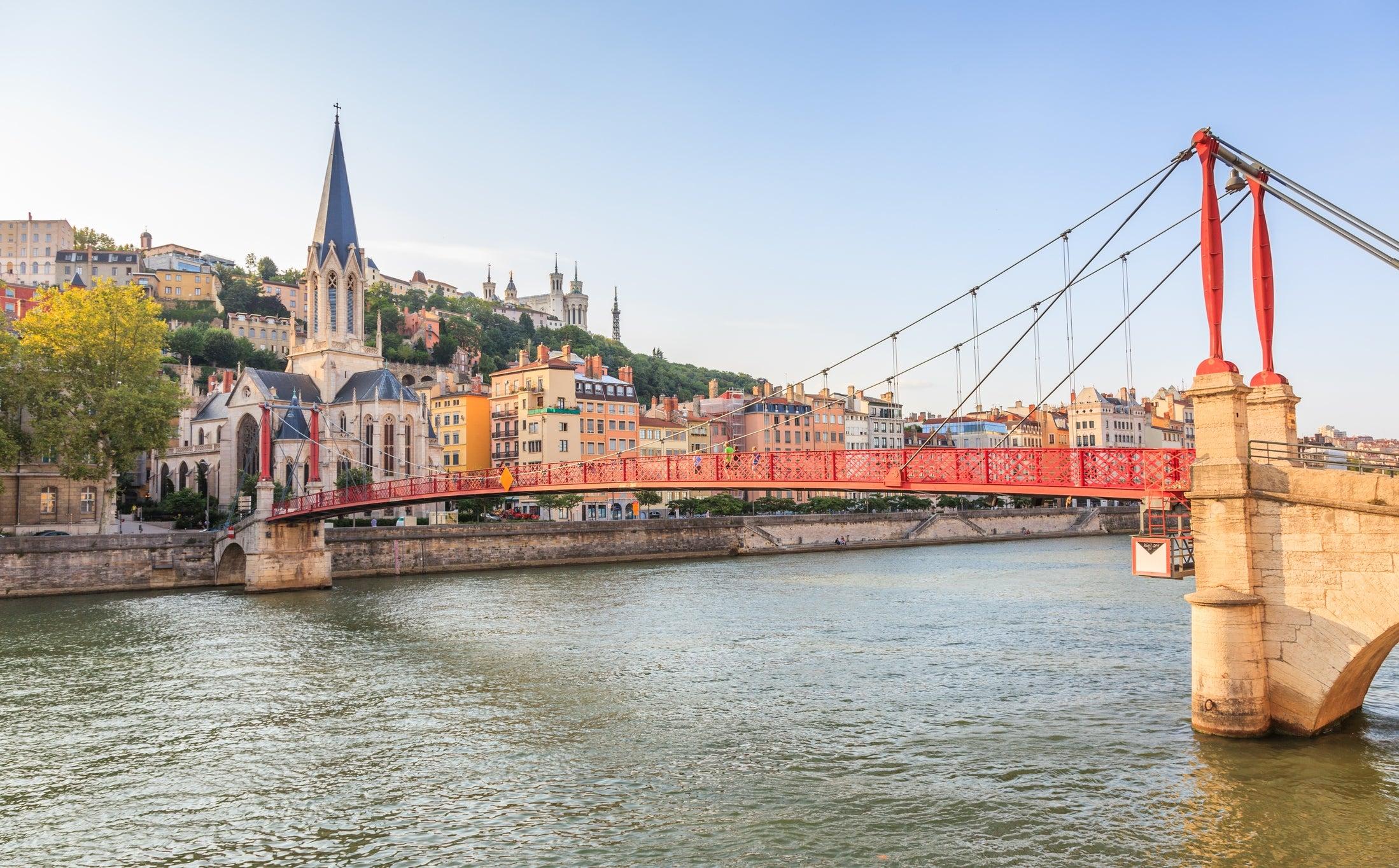 Lyon, France: Soccer, sausage and fresh air