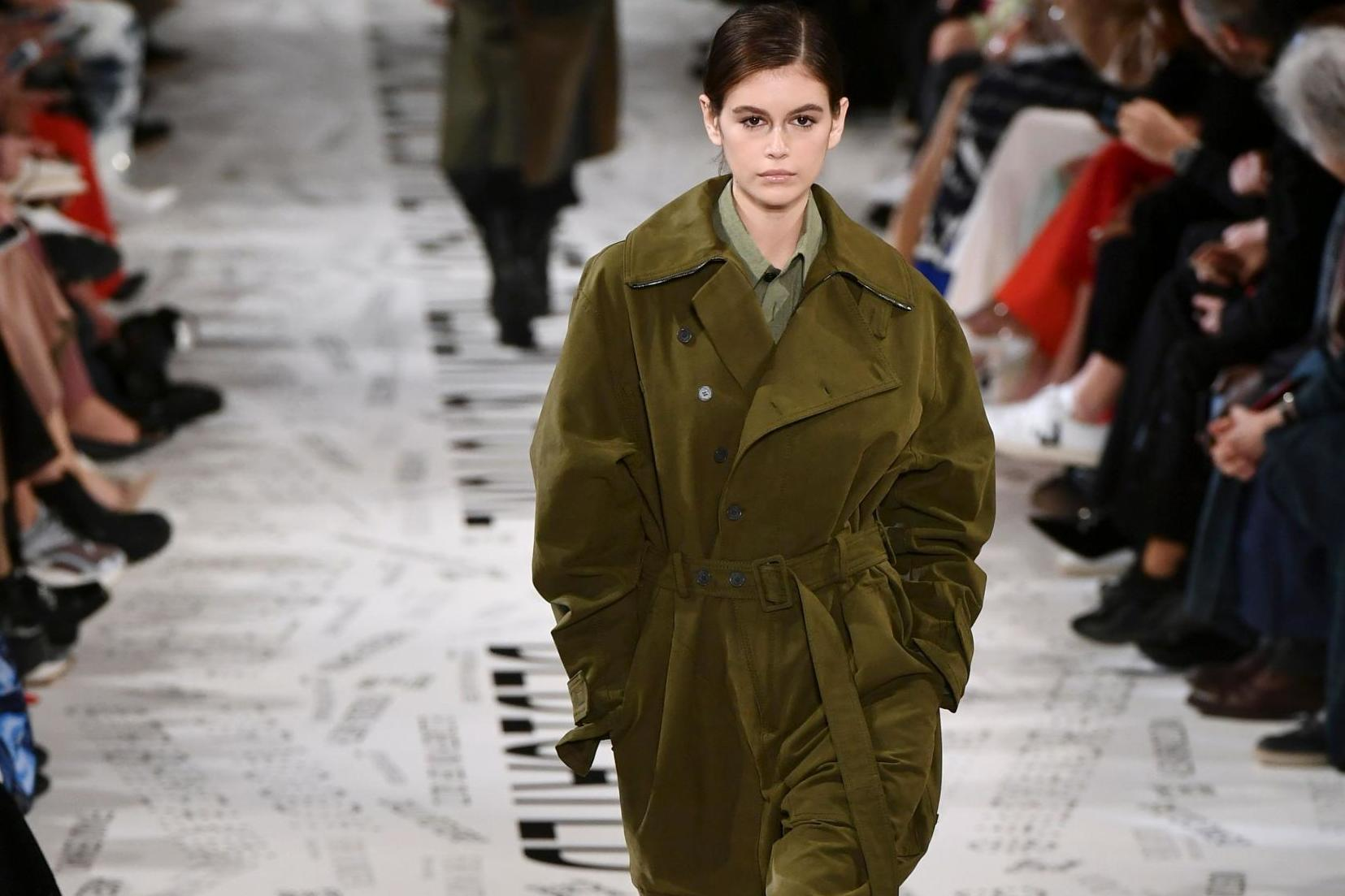 Stella McCartney show featured 'upcycled' clothes during Paris Fashion Week
