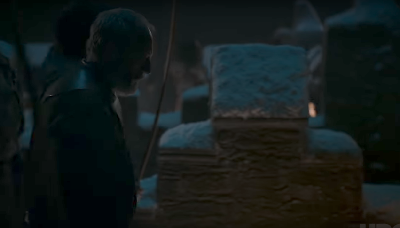 Davos mans the wall's of Winterfell