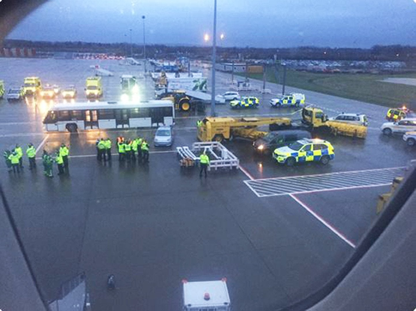 Virgin Atlantic flight quarantined: All passengers and crew placed in isolation after landing at London Gatwick