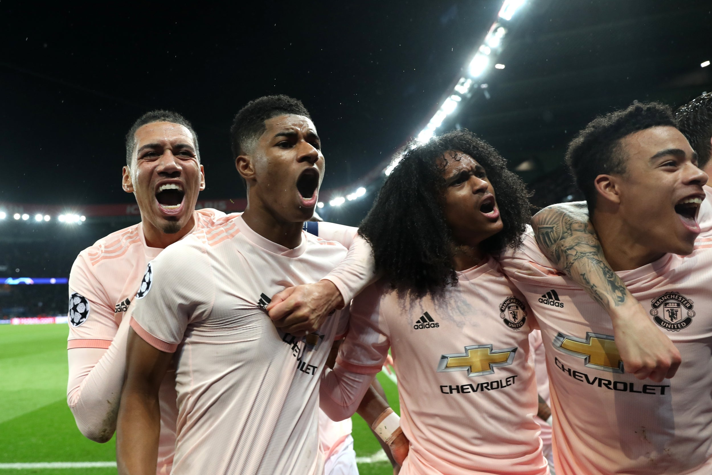 c30cd6c97 PSG vs Manchester United  Jesse Lingard s incredible reaction after Marcus  Rashford scores penalty