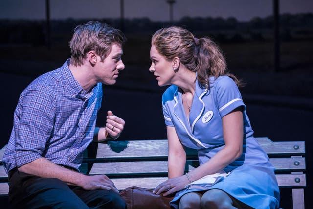David Hunter and Katharine McPhee star in 'Waitress'