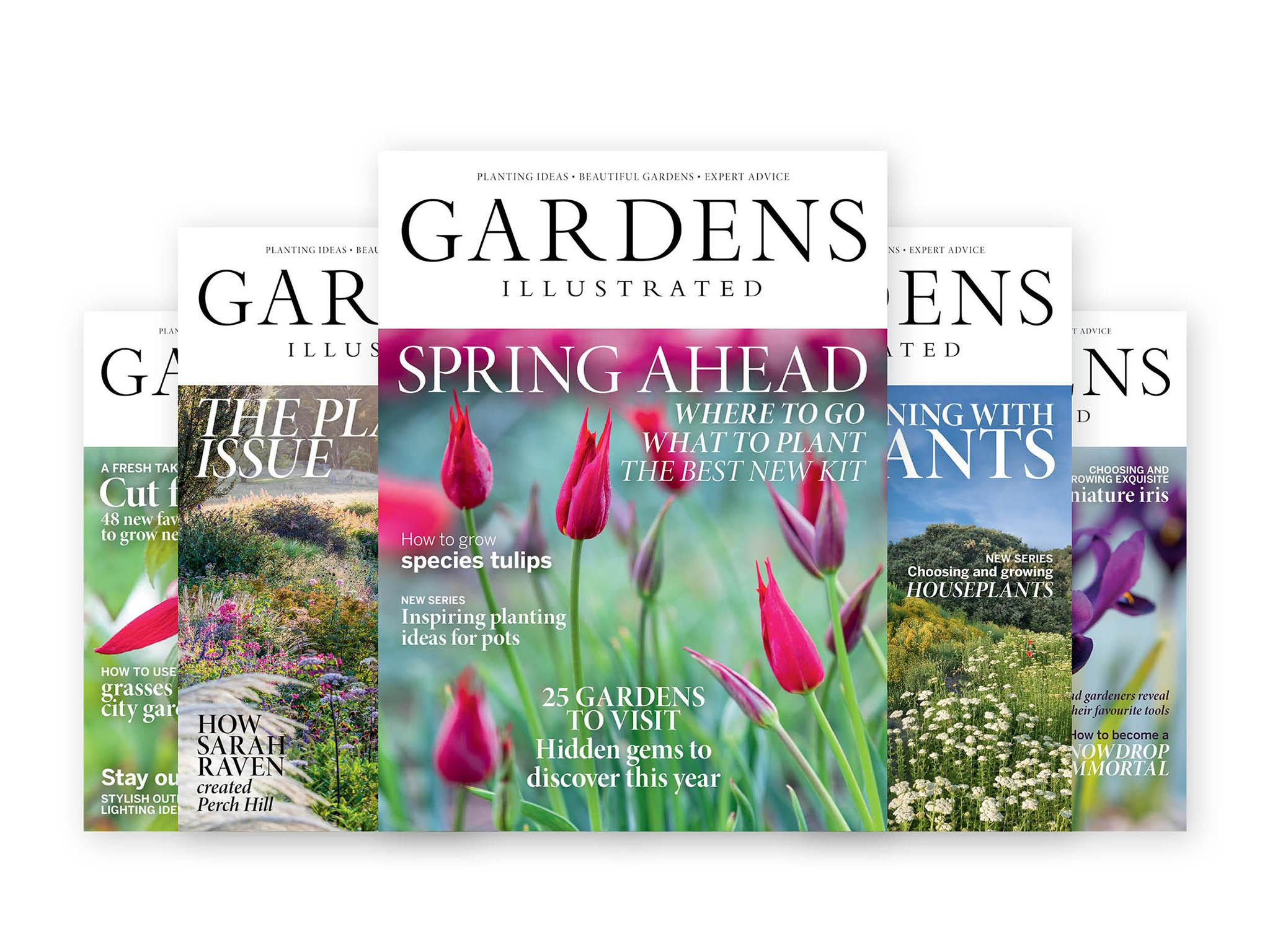 Gardens Illustrated Magazine GBP1650 For Six Issues Buysubscriptions
