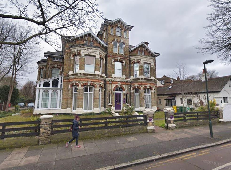 The BPAS clinic in Rosslyn Road, Twickenham