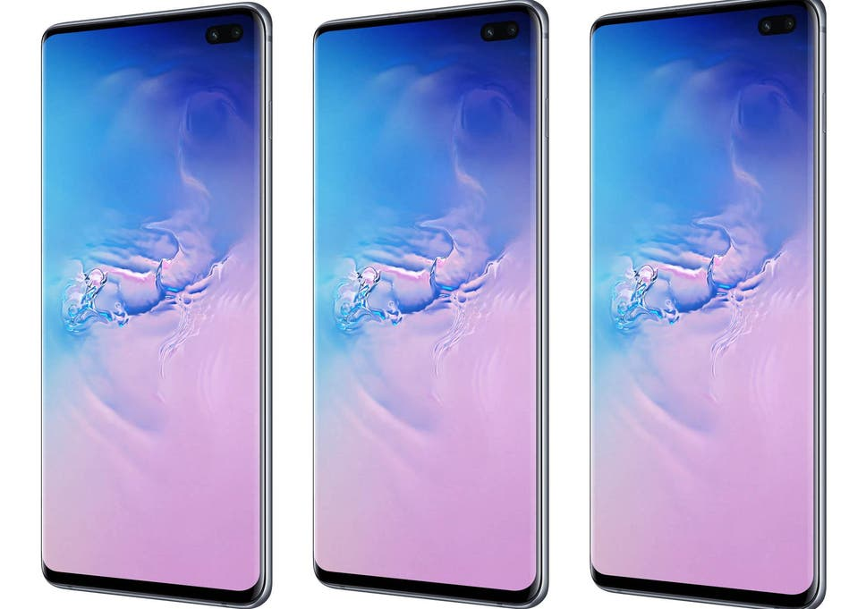 18db1438a27 New features of the Samsung S10+ include a fingerprint sensor and two-way  wireless charging