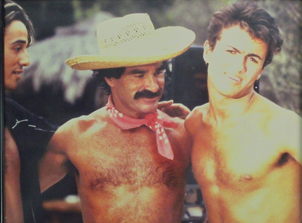 Shooting 'Club Tropicana' with George Michael and Andrew Ridgley