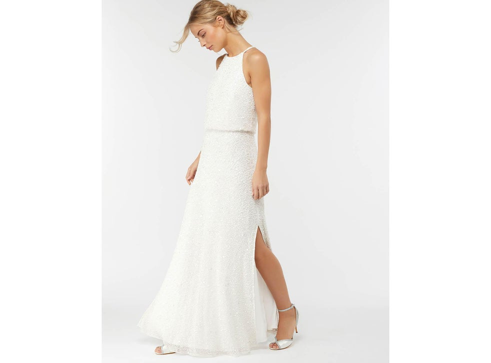 9 Best Wedding Dresses Under 1 000 The Independent The Independent,Wedding Short Fitted White Dress