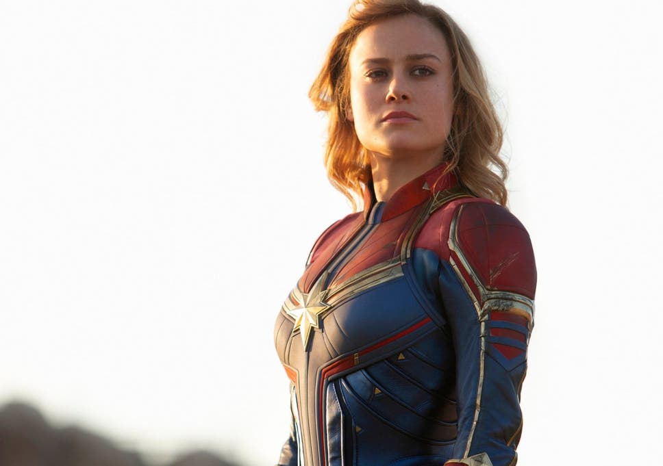 Captain Marvel Delivers A Perfect Answer To Her Trolls The Independent